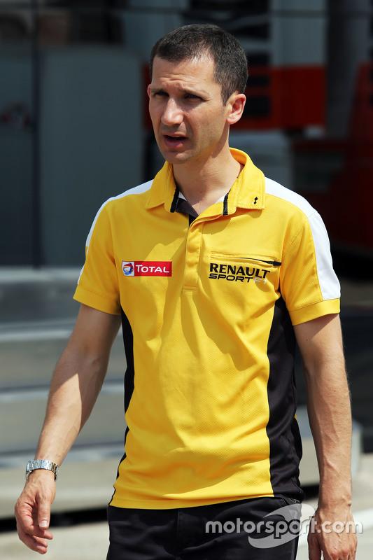 Remi Taffin, Renault Sport F1 Head of Track Operations