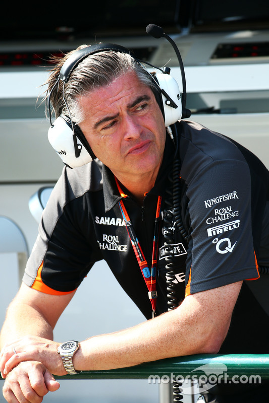 Andy Stevenson, administrador da Sahara Force India F1