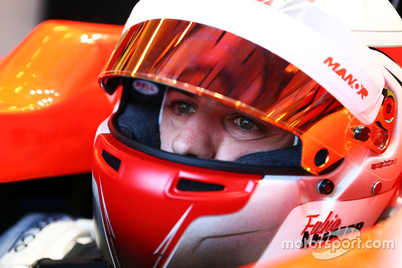 Fabio Leimer, Manor F1 Team Test and Reserve Driver