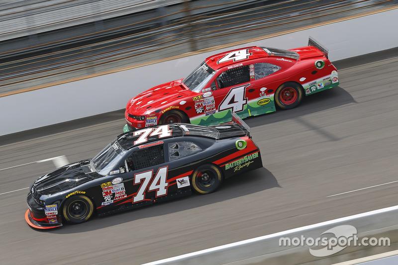 Mike Harmon, dan Ross Chastain, JD Motorsports Chevrolet