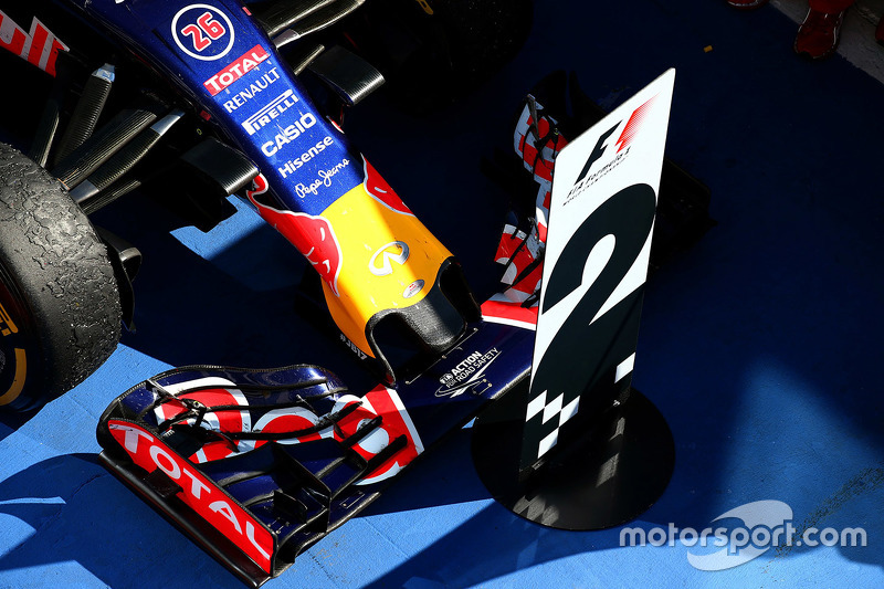 Mobil Daniil Kvyat, Red Bull Racing