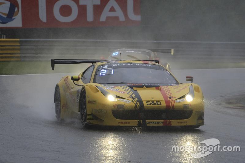 #52 AF Corse Ferrari 458 Italia: Adrien de Leener, Cedric Sbirrazzuoli, Raffaelle Gianmaria, Тоні Ві