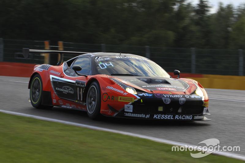 #11 Kessel Racing Ferrari 458 Italia: Michael Broniszewski, Alessandro Bonacini, Michael Lyons, Andrea Piccini