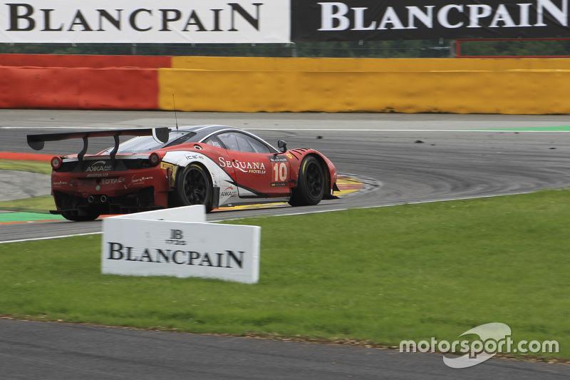 #10 Akka ASP Ferrari 458 Italia: Christophe Bourret, Pascal Gibon, Philippe Polette, Jean-Philippe B