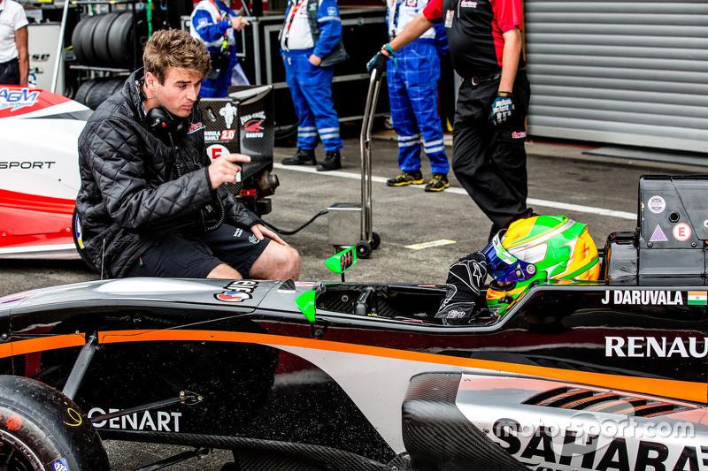 Jehan Daruvala, Fortec Motorsport