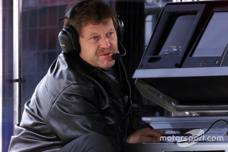 Mercedes-Benz motorsport director Norbert Haug