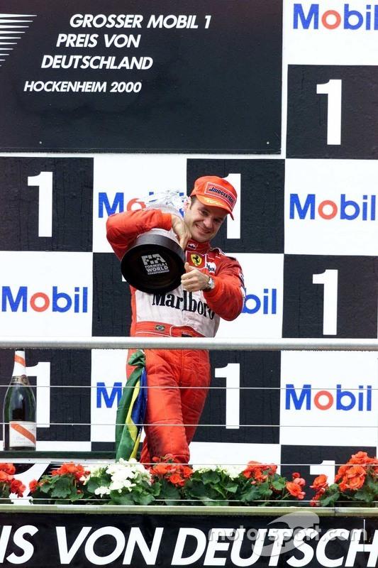 Winnaar Rubens Barrichello, Ferrari