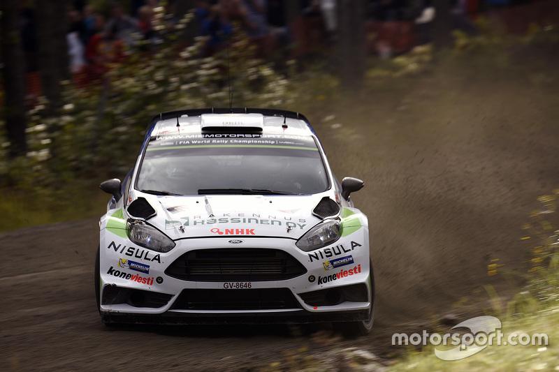 Juho Hanninen та Tomi Tuominen, Ford Fiesta WRC