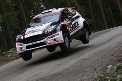 Sander Parn y James Morgan, Ford Fiesta R5