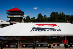 IndyCar tent at Mid-Ohio