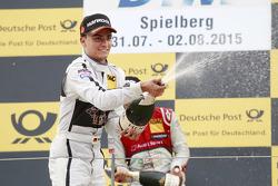 2. Pascal Wehrlein, HWA AG, Mercedes-AMG C63 DTM
