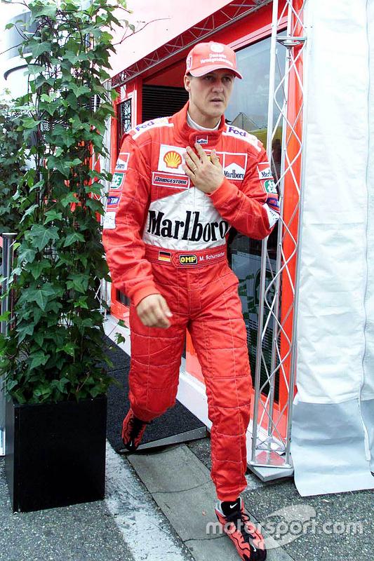迈克尔·舒马赫,法拉利车队