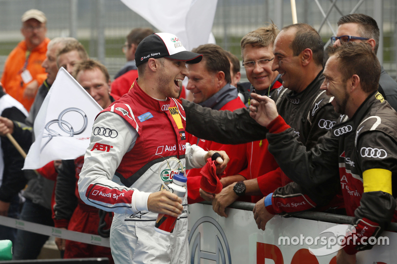 Third place Edoardo Mortara, Audi Sport Team Abt Audi RS 5 DTM