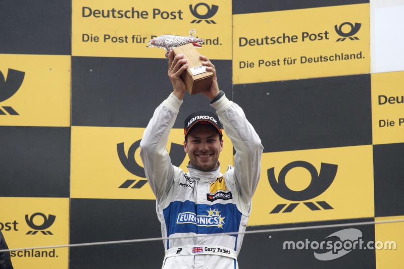 Peringkat kedua Gary Paffett, ART Grand Prix Mercedes-AMG C63 DTM