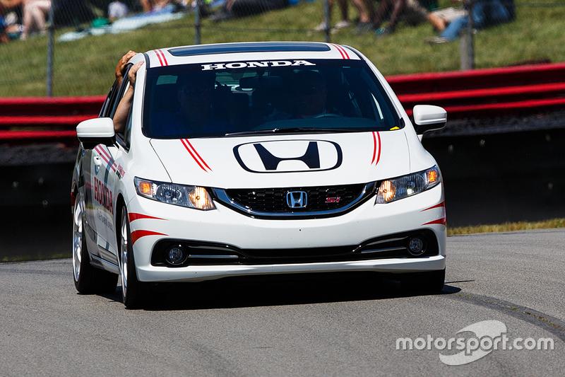 Honda safety car
