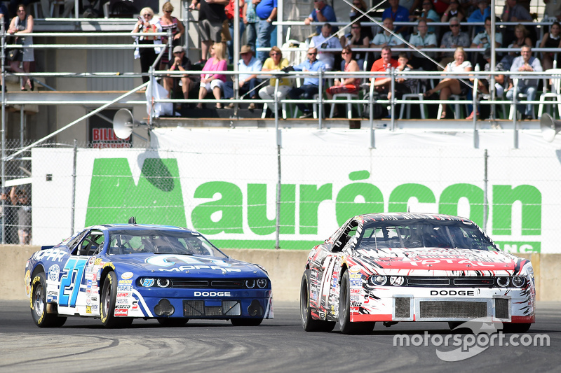 Kevin Lacroix leads Andrew Ranger
