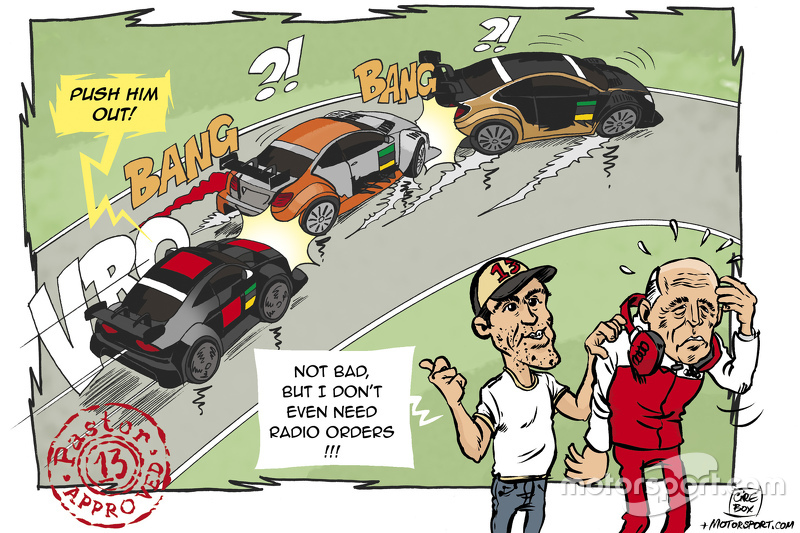 Cartoon: Maldonado's view on