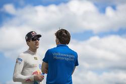Йост Капито, глава Volkswagen Motorsport, и Себастьен Ожье, Volkswagen Motorsport