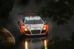 #76 Compass360 Racing Audi R8 LMS: Pierre Kleinubing, Ray Mason