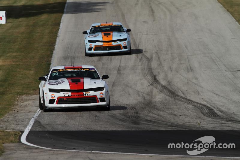 #80 Mantella Autosport Camaro Z/28.R: Martin Barkey, Kyle Marcelli