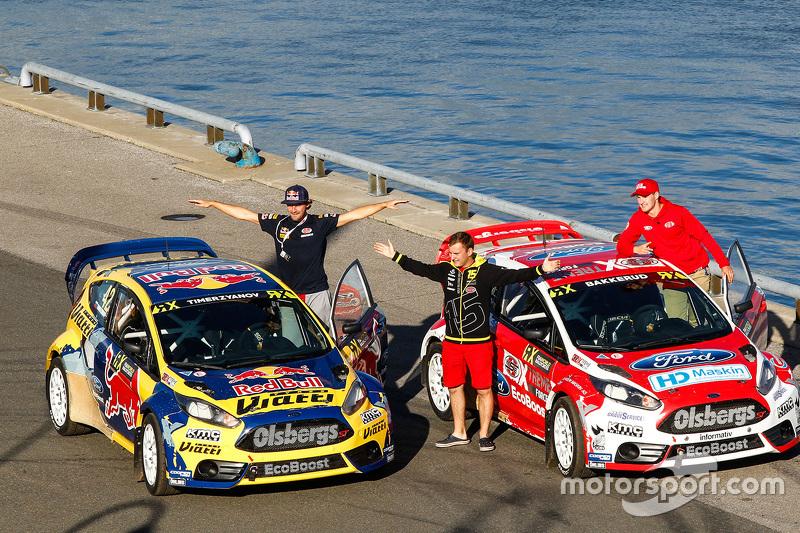 Timur Timerzyanov, Olsbergs MSE Ford Fiesta ST dan Andreas Bakkerud, Olsbergs MSE Ford Fiesta ST