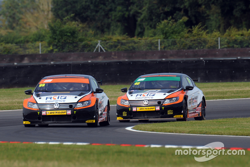 Jason Plato dan Aron Smith, Team BMR