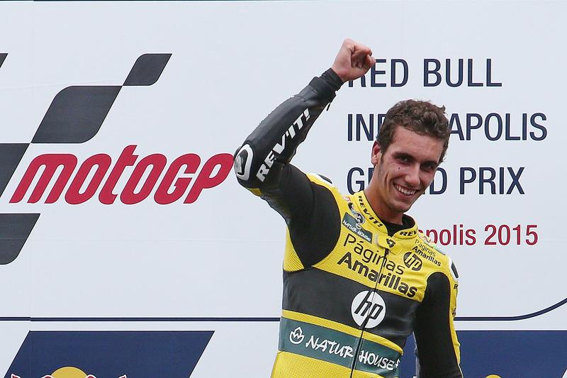 Podium: winner Alex Rins