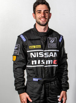 GT Academy competitor Matthew Simmons
