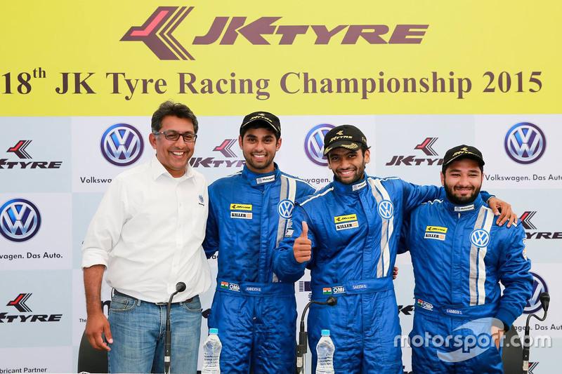 Sirish Vissa, Anindith Reddy, Sailesh Bolisetti, dan Karminder Singh