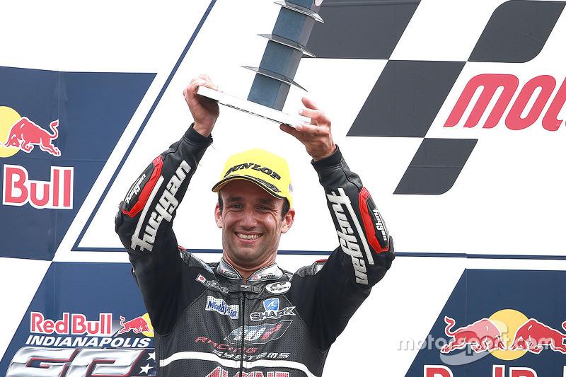 Peringkat kedua Johann Zarco, Ajo Motorsport