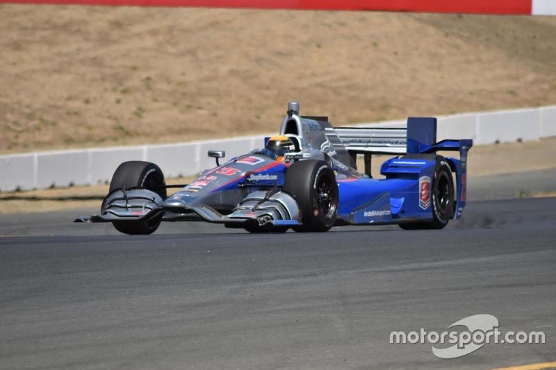 Matt Brabham testing for Andretti at Sonoma
