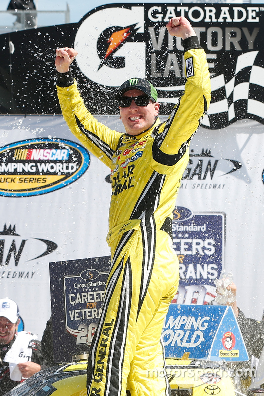 Pemenang balapan, Kyle Busch, Kyle Busch Motorsports Toyota