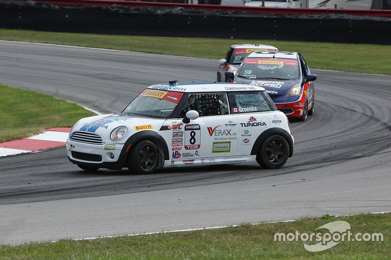 #8 P.J. Groenke Racing MINI Cooper: PJ Groenke