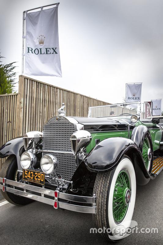 Richard R. Rawlings, 1929 Packard 645 Deluxe Eight Rollston Roadster