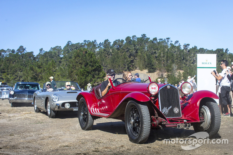 Scott & Joanie Kriens, 1931 Alfa Romeo 8C 2300 Touring Spider