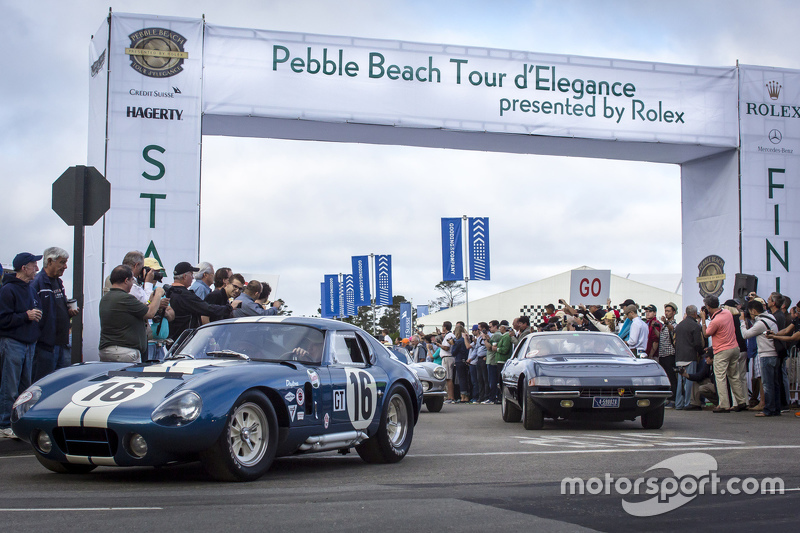 Start of the Pebble Beach Tour d'Elegance