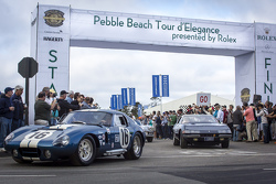 El inicio del Pebble Beach Tour d'Elegance