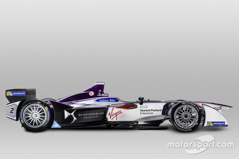 Designpräsentation von DS Virgin Racing Formula E Team