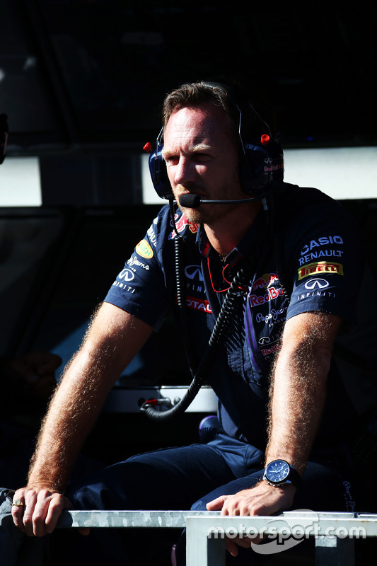 Christian Horner, diretor da Red Bull Racing