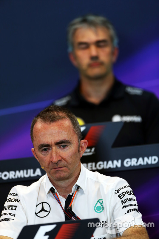 Paddy Lowe, Mercedes AMG F1 Executive Director, di FIA Press Conference