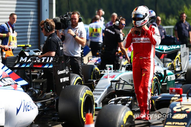 Sebastian Vettel, Ferrari di parc ferme
