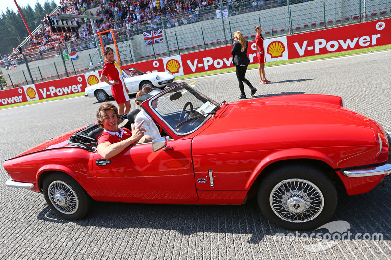 Roberto Merhi, Manor F1 Team on the drivers parade