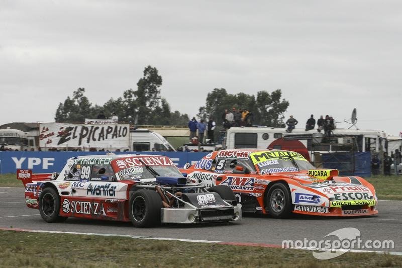 Matias Jalaf, Catalan Magni Motorsport Ford, dan Jonatan Castellano, Castellano Power Team Dodge