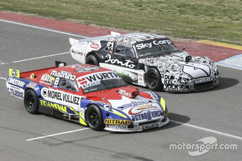 Juan Martin Trucco, JMT Motorsport Dodge dan Laureano Campanera, Donto Racing Chevrolet