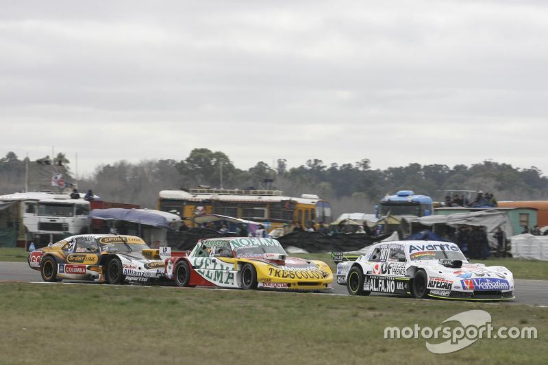 Leonel Sotro, Alifraco Sport Ford, dan Nicolas Bonelli, Bonelli Competicion Ford, dan Leonel Pernia, Las Toscas Racing Chevrolet