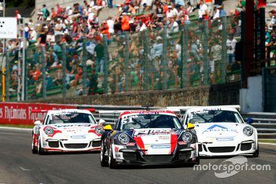 Sébastien Loeb en Porsche Supercup à Spa