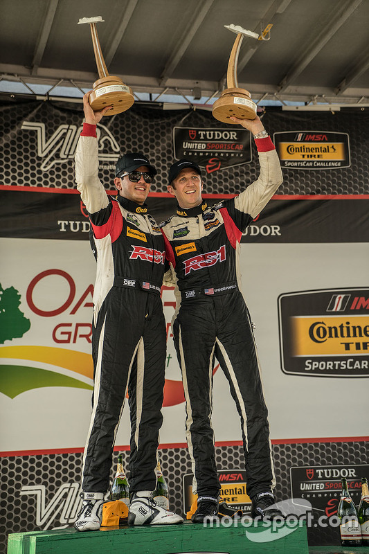 Race winners #17 RS1 Porsche Cayman: Spencer Pumpelly, Luis Rodriguez Jr.