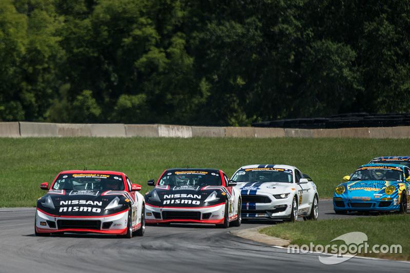 #14 Doran Racing Nissan 370Z: B.J. Zacharias, Brad Jaeger and #41 Doran Racing Nissan 370Z: Nick Hammann, Steven Doherty