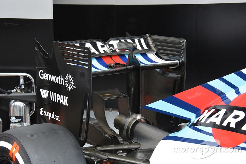 Williams sayap belakang