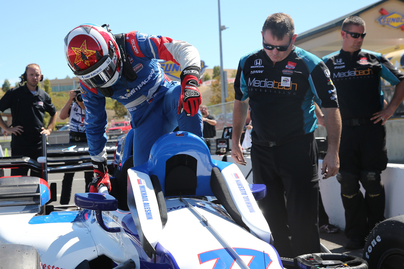 Михайло Алешін, Schmidt Peterson Motorsports